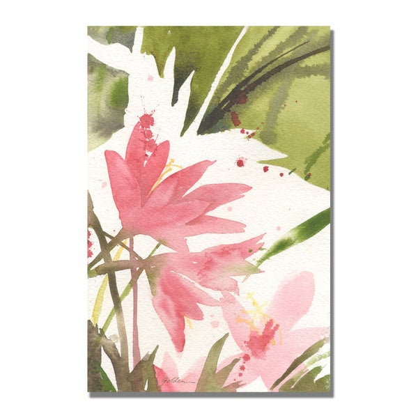 Shelia Golden 'The Appearance of Spring' Canvas Art