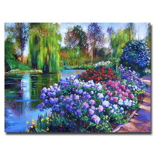 David Lloyd Glover 'Promise of Spring' Canvas Art