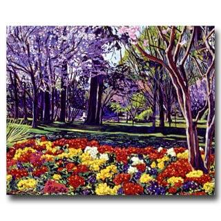 David Lloyd Glover 'Sunday in the Park' Canvas Art