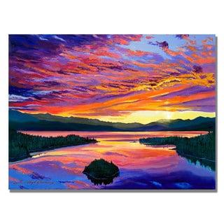 David Lloyd Glover 'Paint Brush Sky' Canvas Art