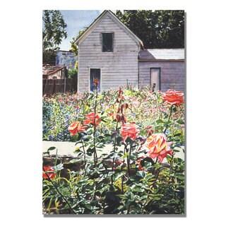 David Lloyd Glover 'Rose Garden' Canvas Art