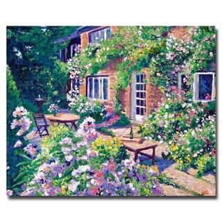 David Lloyd Glover 'Royal Rhododendrons' Canvas Art