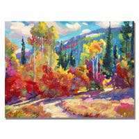 David Lloyd Glover 'The Colors of New Hampshire' Canvas Art
