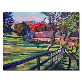 David Lloyd Glover 'Country House' Canvas Art