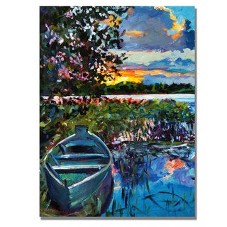 David Lloyd Glover 'Days End' Canvas Art