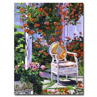 David Lloyd Glover 'The Sun Chair' Canvas Art
