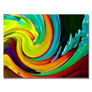 Amy Vangsgard 'Crashing Wave' Canvas Art