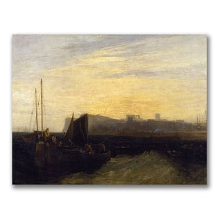 Joseph Turner 'Margate 1808' Canvas Art