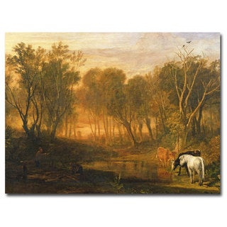 Joseph Turner 'The Forest of Berer' Canvas Art