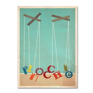 Megan Romo 'Pinocchio' Canvas Art