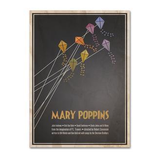 Megan Romo 'Mary Poppins' Canvas Art