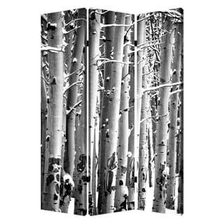 Birch 3-Panel Canvas Screen