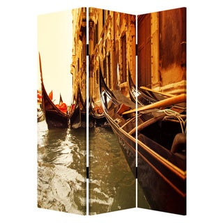 Venice 3-Panel Canvas Screen