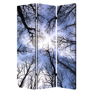 Forest 3-Panel Canvas Screen