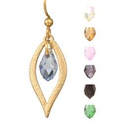Vega Crystal Dangle Earrings