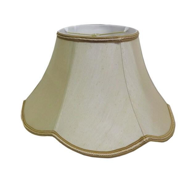 Round Scallop Silk Shade/ Trim