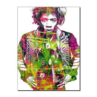 Ready2HangArt Iconic 'Jimmy Hendrix' Acrylic Wall Art