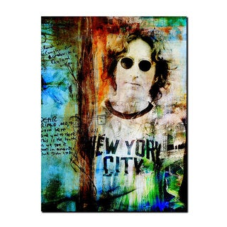 Ready2HangArt Iconic 'John Lennon' Acrylic Wall Art - Multi-color