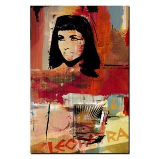 Ready2HangArt Iconic 'Cleopatra VII Philopator' Acrylic Wall Art - Multi-color