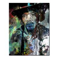 Ready2HangArt Iconic 'Jimmy Hendrix' Acrylic Wall Art - Multi-color