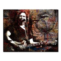 Ready2HangArt 'Jerry Garcia' Acrylic Wall Art - Multi-color