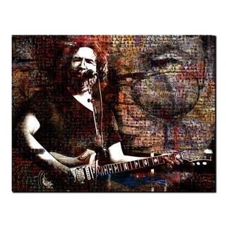 Ready2HangArt 'Jerry Garcia' Acrylic Wall Art - Multi-color