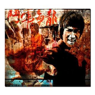 Ready2HangArt Iconic 'Bruce Lee' Acrylic Wall Art