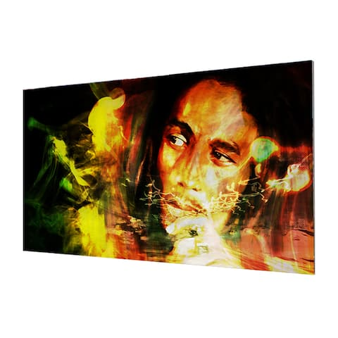 Ready2HangArt Iconic 'Bob Marley' Acrylic Wall Art - Multi-color