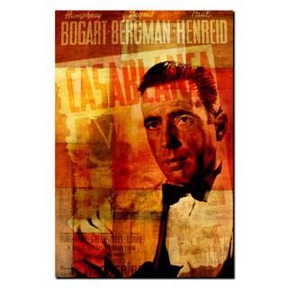 Ready2HangArt Iconic 'Humphrey Bogart' Acrylic Wall Art