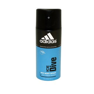 Adidas Ice Dive Men's 24 Hr Fresh Boost Cool Tech Deodorant Body Spray
