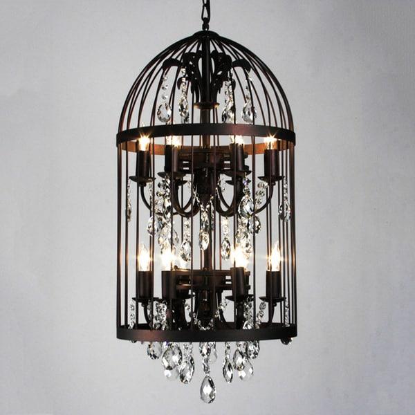 Bird Chandelier Lighting: Shop Bird Cage 12-light Chandelier