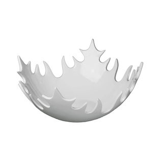 Large White Decorative Bowl