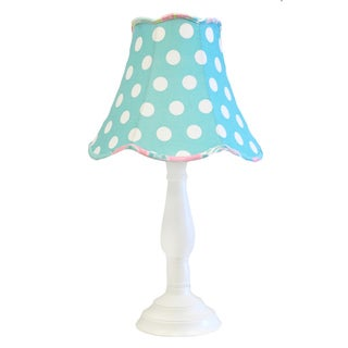 My Baby Sam Pixie Baby Lamp Shade and Base in Aqua