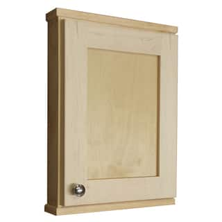 Shaker Series 18-inch Unfinished 2.5-inch Deep Inside On The Wall Cabinet|https://ak1.ostkcdn.com/images/products/8176028/8176028/Shaker-Series-18-inch-Natural-Finish-2.5-inch-Deep-Inside-On-The-Wall-Cabinet-P15513983.jpg?impolicy=medium