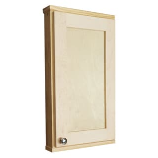 Shaker Series 24-inch Unfinished 2.5-inch Deep Inside On The Wall Cabinet