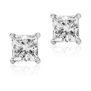 Bridal Symphony 14k White Gold 1/4 to 1ct TDW Certified Diamond Stud Earrings (I-J, I1-I2)