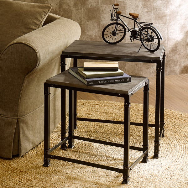 Renate Cirque Accent Nesting Tables (Set of 2) & Renate Cirque Accent Nesting Tables (Set of 2) - Free Shipping Today ...