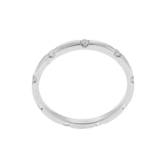 Beverly Hills Charm 14k White Gold 1/4ct TDW Diamond Eternity Band Ring (H-I, SI2-I1)