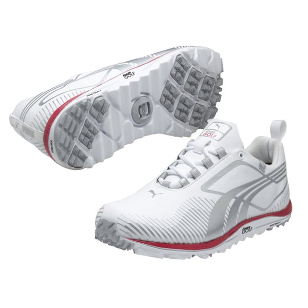 Puma Women's White Faas Lite Spikeless Golf Shoes