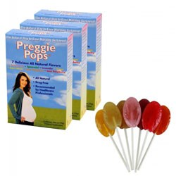 Three Lollies Variety Preggie Pops (Pack of 3)