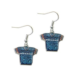 NFL Glitter Jerseys Sparkle Logo Jersey Earrings
