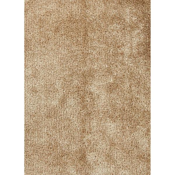 """Vance Handmade Solid Beige Area Rug (5' X 7'6"""") - 5' x 7'6"""