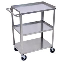 Stainless Steel 3 Shelf Utility Cart SSC-3 (4 options available)