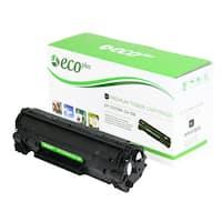 EcoPlus HP Remanufactured Black Toner Cartridge CE278A