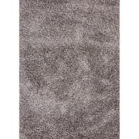 Axel Solid Silver/ Tan Area Rug (5' X 8')