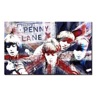 Ready2HangArt Iconic 'British Beatles' Acrylic Wall Art