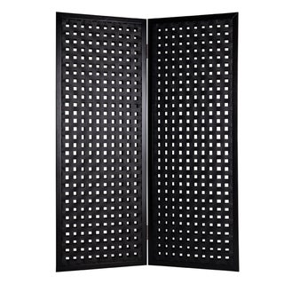 Bellamy 2-Panel Leather Screen (China)