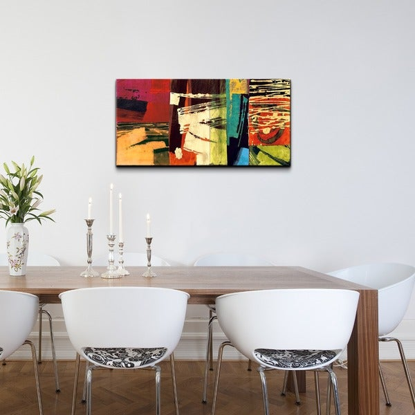 Ready2HangArt 'Abstract' Gallery-wrapped Canvas Art