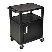 Black Utility Cart WT34C2E-B