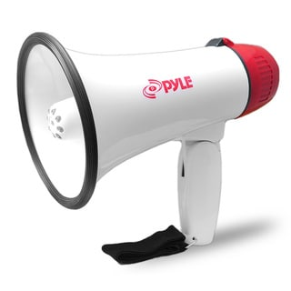 Pyle Professional Megaphone / Bullhorn with Siren & LED Lights